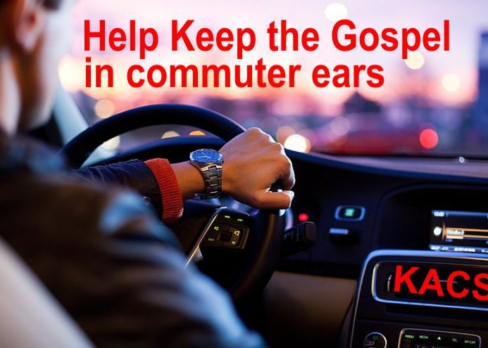 Help share Jesus on-air, out there and online!